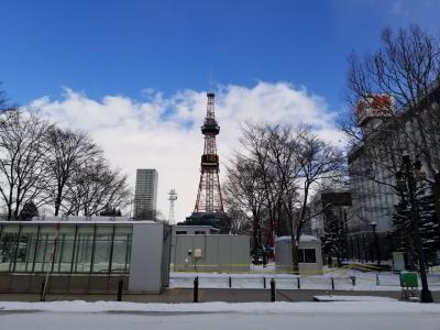 冬の札幌へ(2020年)