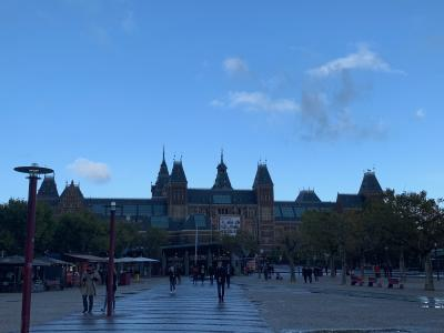 久しぶりのアムステルダム 、妻は初めて!