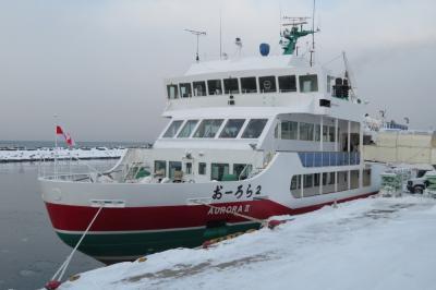 流氷と雪まつりを見に北海道へ ①