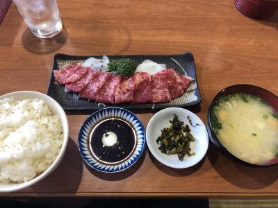 ビジネスの合間の熊本市内