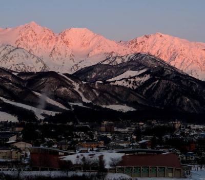 団塊夫婦のスキー&絶景の旅・2020ー(3)スキーより景色を満喫・快晴の白馬八方尾根スキー場