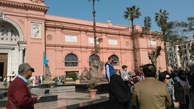 シニアのツアーで行くカイロとナイル川クルーズ8日間 その2 カイロ市内見物