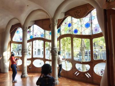 バルセロナの旅7日間⑤カサバトリョ/カサミラ/コロンブスの記念塔など
