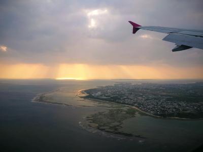 2020.01 家族でのんびり石垣・竹富島(1)関空からPeachで飛んで石垣島。
