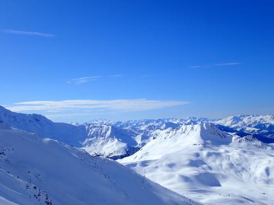 弾丸 貧乏スキー旅行 フランス Les Arcs