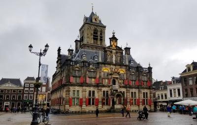 2018GWオランダ・ベルギー美術ざんまいの旅(8)フェルメールの生まれたデルフトの散策