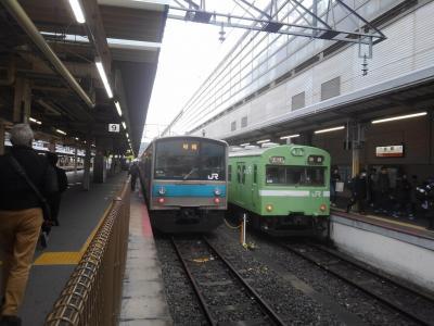 いくぞ❗青春18切符で広島へ 103系画像シリーズ