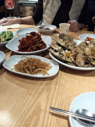 冬の釜山で美味しいものを沢山の女子三人旅