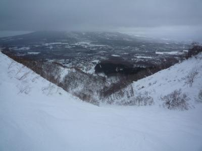 暖かい今年の冬の北海道