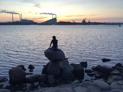 コペンハーゲンの朝とデンマーク世界遺産めぐり