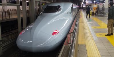 新幹線で行く神戸の旅