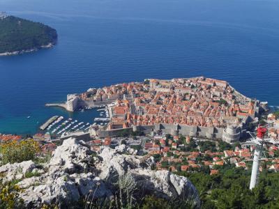 喜寿記念スロヴェニア・クロアチア12日間旅行記⑳ドブロヴニクのスルジ山からの眺望と街歩き、帰国