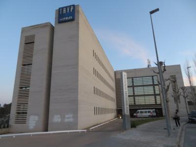 スペイン 「行った所・見た所」 バルセロナ・エルプラット国際空港から宿泊したトリップバルセロナアエロプエルトへ