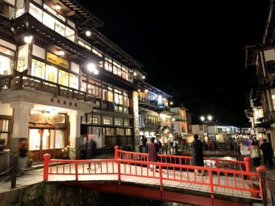 銀山温泉_Ginzan Onsen  大正・昭和ノスタルジー!かつて鉱夫を癒した湯治場は、日本を代表する風情ある温泉地へ