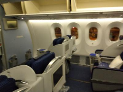 ANA NH842 深夜便 ベトナムホーチミンから成田空港 ビジネスクラス搭乗記