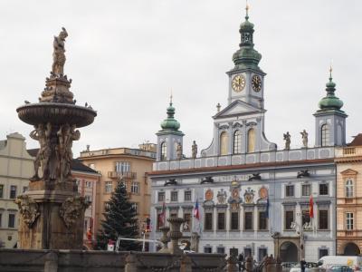 チェコ 冬の旅2 チェスケー・ブディヨヴィツェにちょっと寄り道