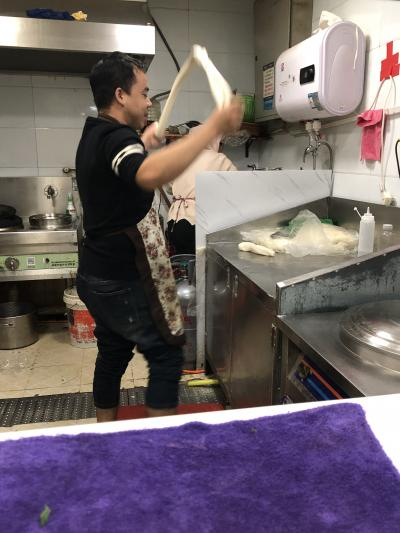 華南から西安へ-やっぱり麺は打ち立てが一番
