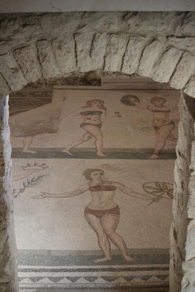 3回目のイタリア③ カルタジローネの大階段・カサーレの別荘