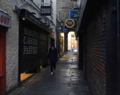 """ロンドン・ナイロビ出張(その52) 14日目-1 おまけのダブリン、""""Book of Kells""""まで、朝の街歩き!"""