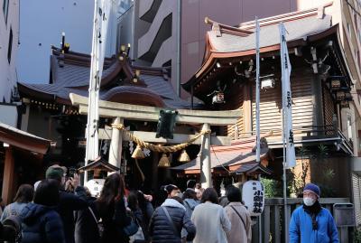 東京日本橋散策・・日本橋七福神をめぐります。