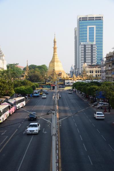 ミャンマー ひとり旅 ヤンゴンで街歩き 1