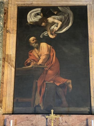 暮らすようにローマ教会巡り(1)カラヴァッジョを求めて