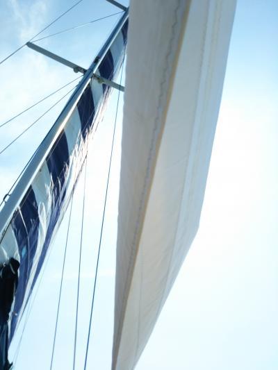 大好きなブセナテラス③ ヨット クルーズで風を感じて海を満喫