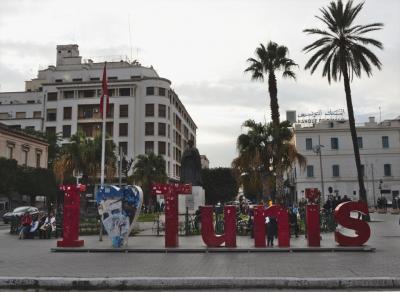 チュニジア7日間の旅(1)ドーハ乗継で,チュニス着後市内観光