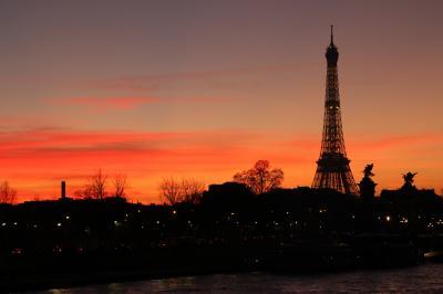 天気の良かった冬のパリ