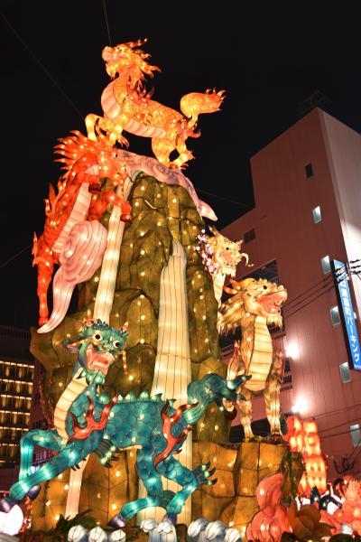 冬の長崎・ランタンフェスティバルに行ってみた