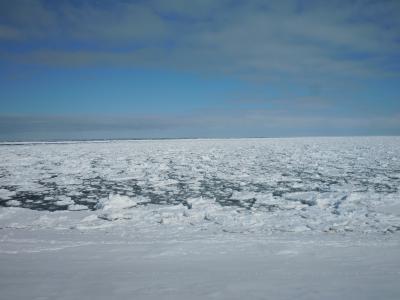 オホーツクの冬