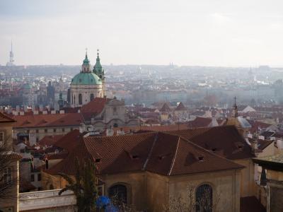 チェコ 冬の旅3 プラハ【2】 プラハ城とモーツァルト