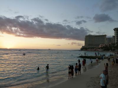 新婚旅行~初めてのハワイにて~1日目