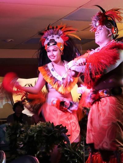 Oahu-8 ポリネシアンショー〔60 Years of Aloha〕☆スター・オブ・ホノルル-船内で