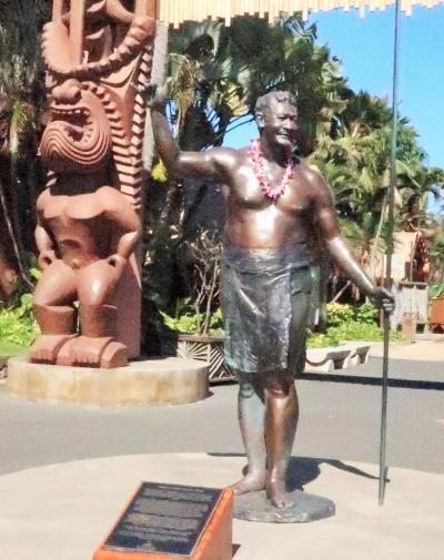 Oahu-17 ポリネシア・カルチャー・センター PCC-園内一巡 ☆日本人留学生-ガイドで