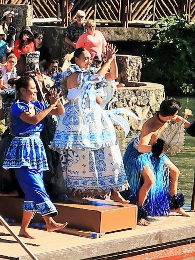 Oahu-20 PCC 水上カヌーショー「HUKI」 3/3 ☆島々はつながり皆が家族のように