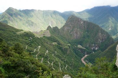 マチュピチュとウユニの旅--インカ道をインティプンクへ--