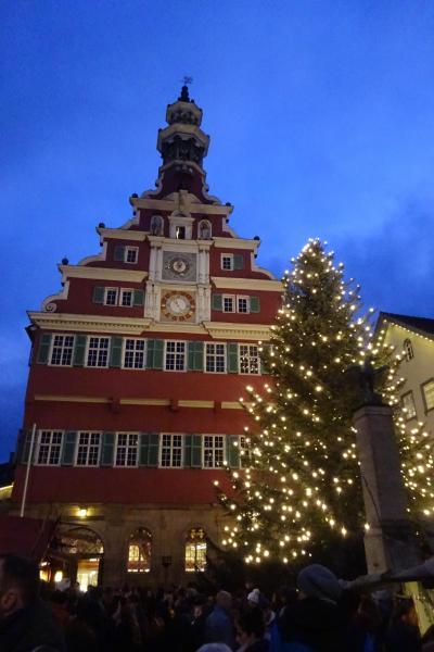 2019.12 ドイツ クリスマスマーケット 3~エスリンゲン