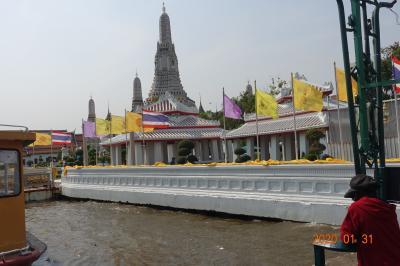 チャクリー王朝とバンコク王宮、寺院を求めてタイへ GO!! (2日目)