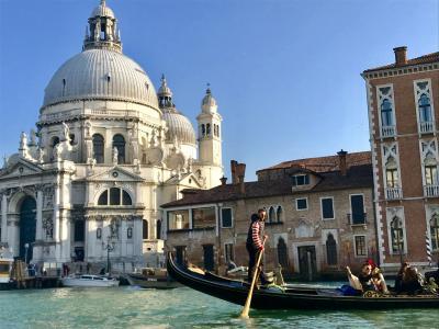 ベネチア旅行①ゴンドラ