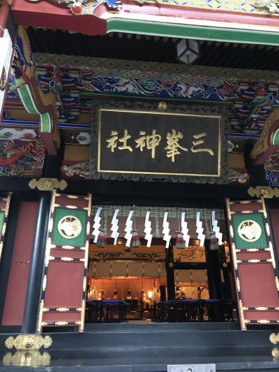 早朝のご祈祷に感動!三峯神社 興雲閣に宿泊。秩父三社めぐり その2
