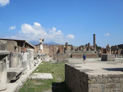 夏の南イタリア周遊&ローマ7日間☆その6ポンペイ~火山の恐ろしさを知る遺跡