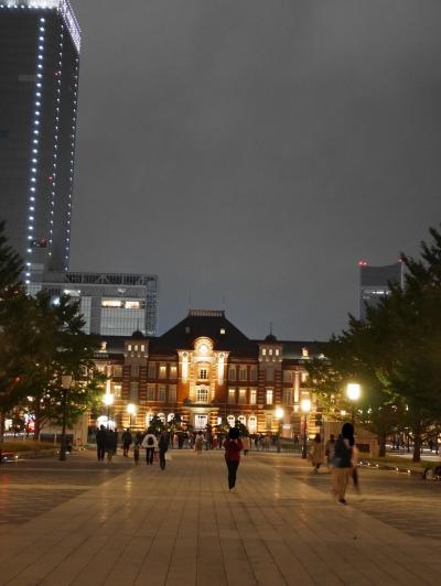 【東京】夜景美し 東京駅と丸の内