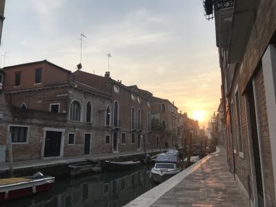ベネチア旅行②街散歩、教会パス、離島