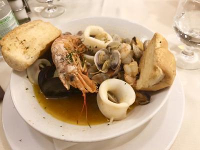 ベネチア旅行③ご飯