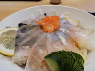 美味しい肝醤油で頂くカワハギ丼@消えゆくマイル消化の旅【3】