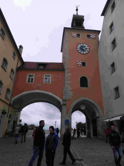 2019年10月 南ドイツへの旅 レーゲンスブルクの街歩きの後ちょっとややこしい電車に乗ってカームに帰る Regensburg