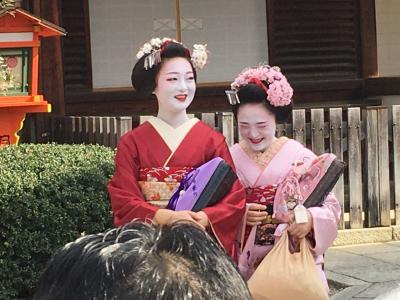 冬の京都~節分祭・石庭・梅(1)