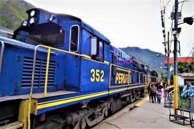 マチュピチュ・ウユニの旅--オリャンタイタンボ駅からウルバンバ渓谷--