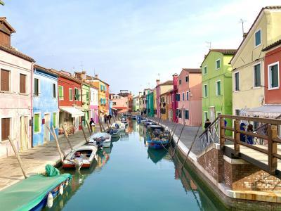 2020プレカーニバルのベネチアとおまけのベローナ:2ブラーノ、トルチェッロ、ムラーノの3島めぐり